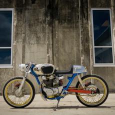 "Honda CB450 Cafe Racer:  ""Shinobi"""
