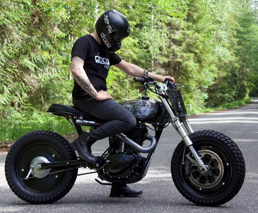 Suzuki Savage Scrambler By Droog Moto Bikebound