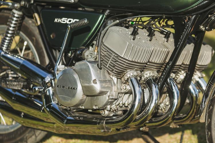 5-Cylinder Kawasaki 2-Stroke by Allen Millyard – BikeBound