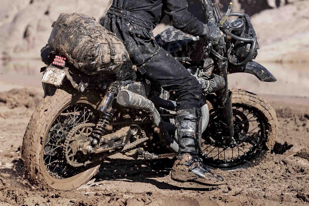 Hd Desert Wolves Harley Davidson Roadster on Sportster Off Road Tires