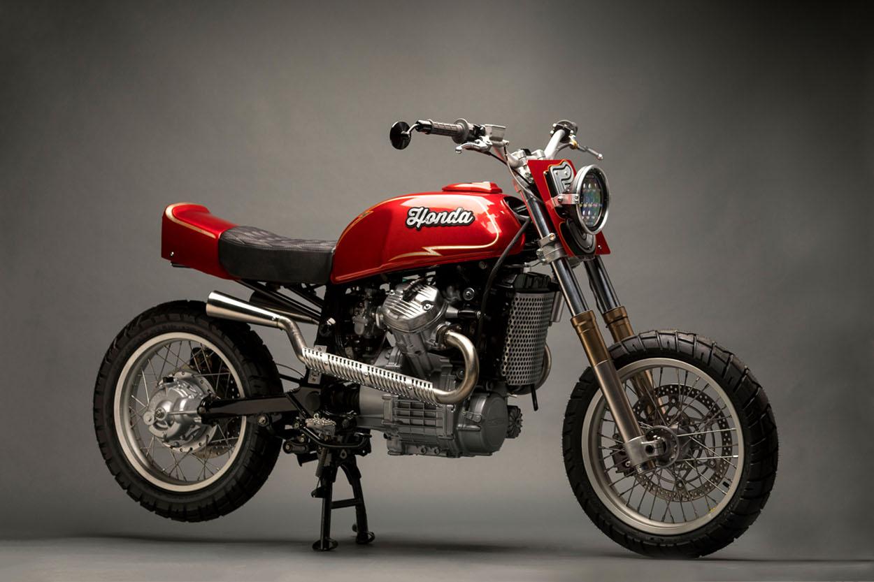 Honda GL500 Scrambler by Other Life Cycles – BikeBound