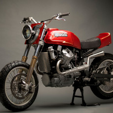 Honda GL500 Scrambler by Other Life Cycles
