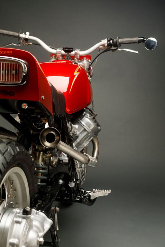 Honda GL500 Street Tracker