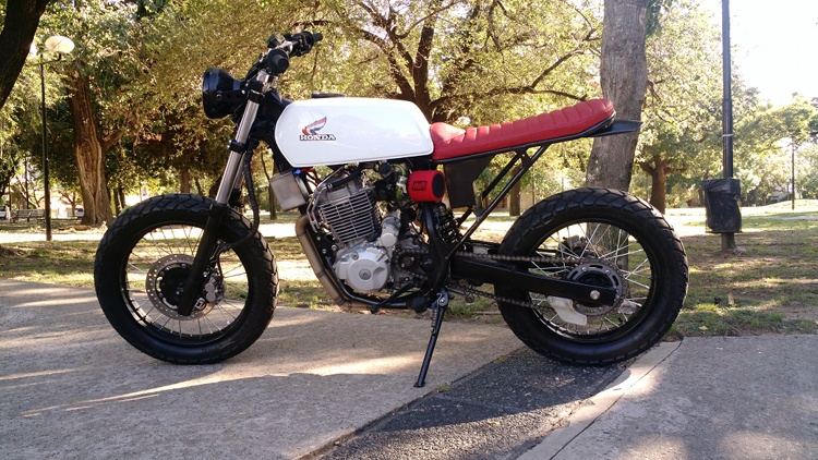 Honda NX4 Custom Tracker
