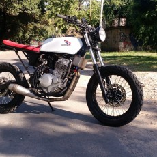 Honda NX4 Tracker by Home Made Motorcycles