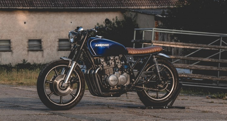 Kawasaki KZ650 Brat by Kaspeed