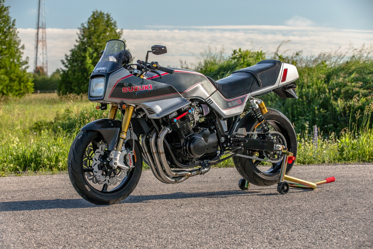 Suzuki Gs1100 Restomod By Db Customs Bikebound Motorcycle Gs Custom