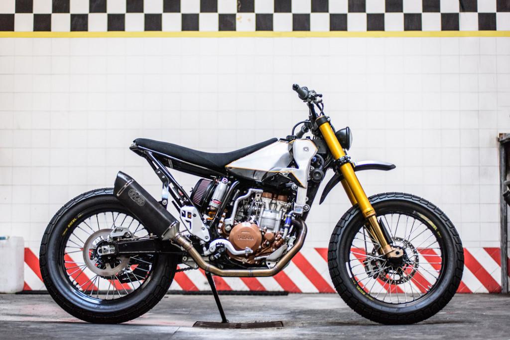 Yamaha WR400F Tracker