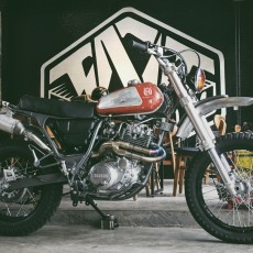 Yamaha XT600 Scrambler by TNT Custom
