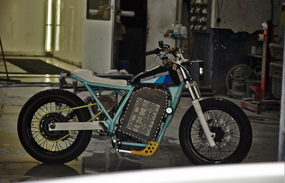 cd92fe436e5 And of course we are really proud to be (maybe) the first custom garage to  build a real electric bike.