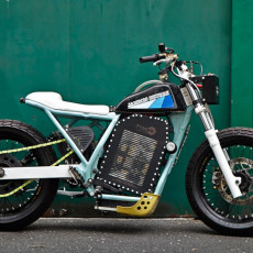 Suzuki DR800 Electric Street Tracker