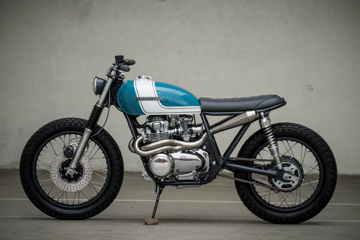 """Honda Cb550 For Sale >> Honda CB550 """"City Scrambler"""" by J.Webster Designs – BikeBound"""