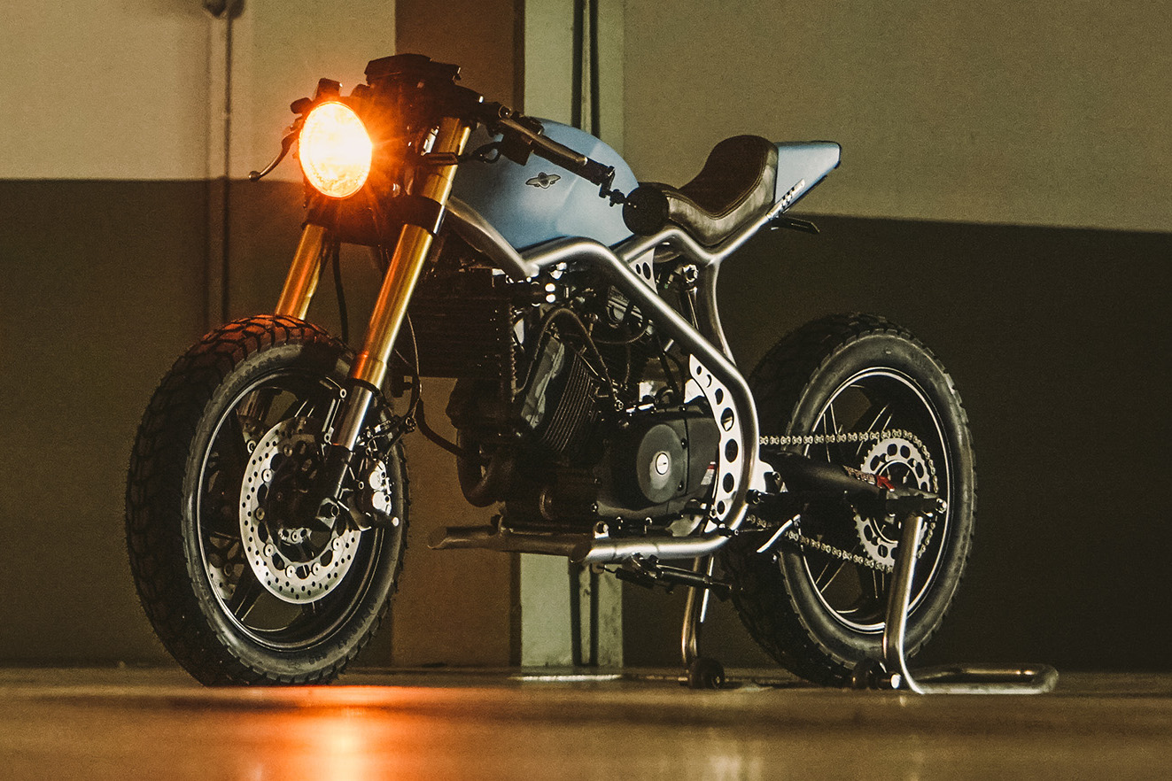 Comet 250cc Cafe Racer: Builder Interview