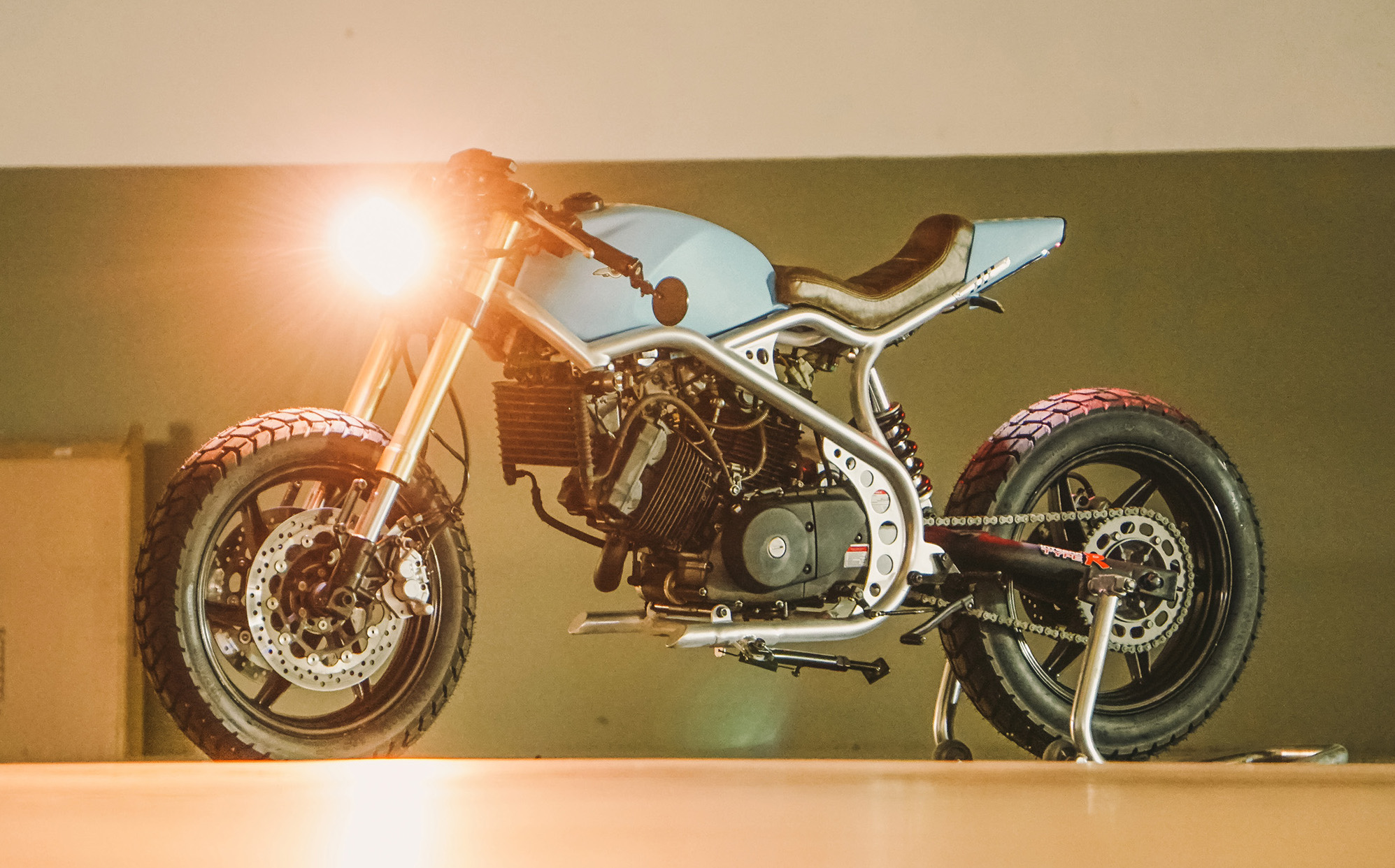 Have you guys ever heard of a Kasinski Comet 250? Neither had we — until we stumbled across this 250cc cafe racer from Lucca Customs, who are based on the ...