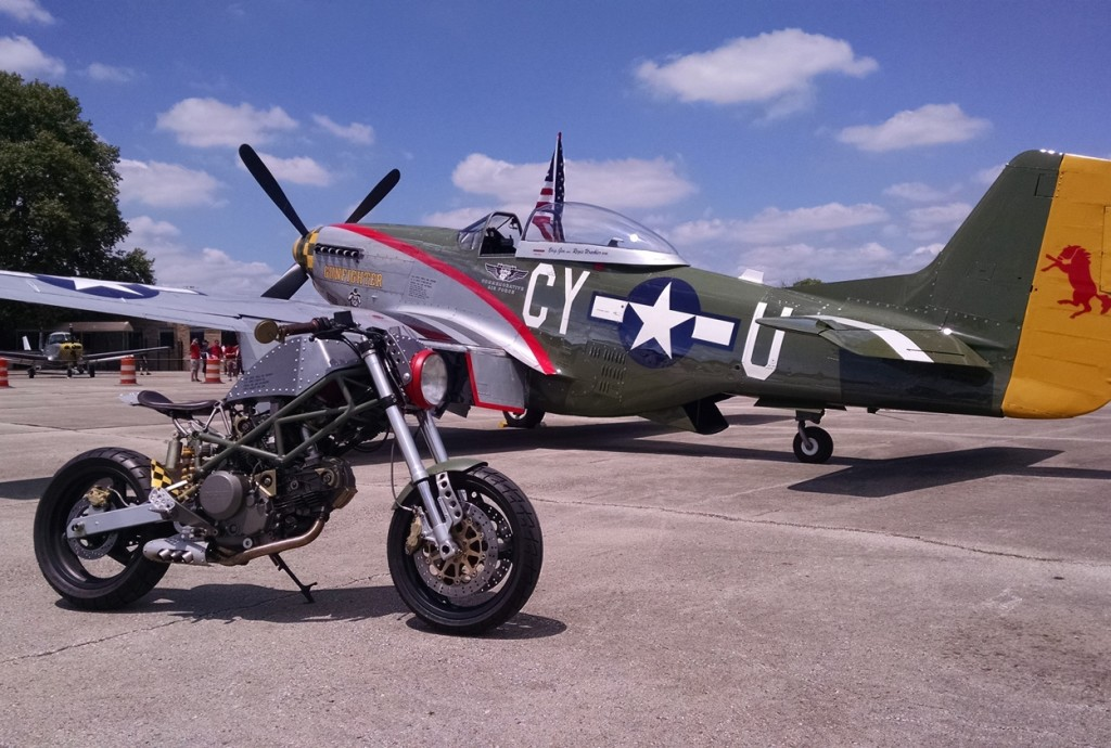 P-51 Custom Motorcycle