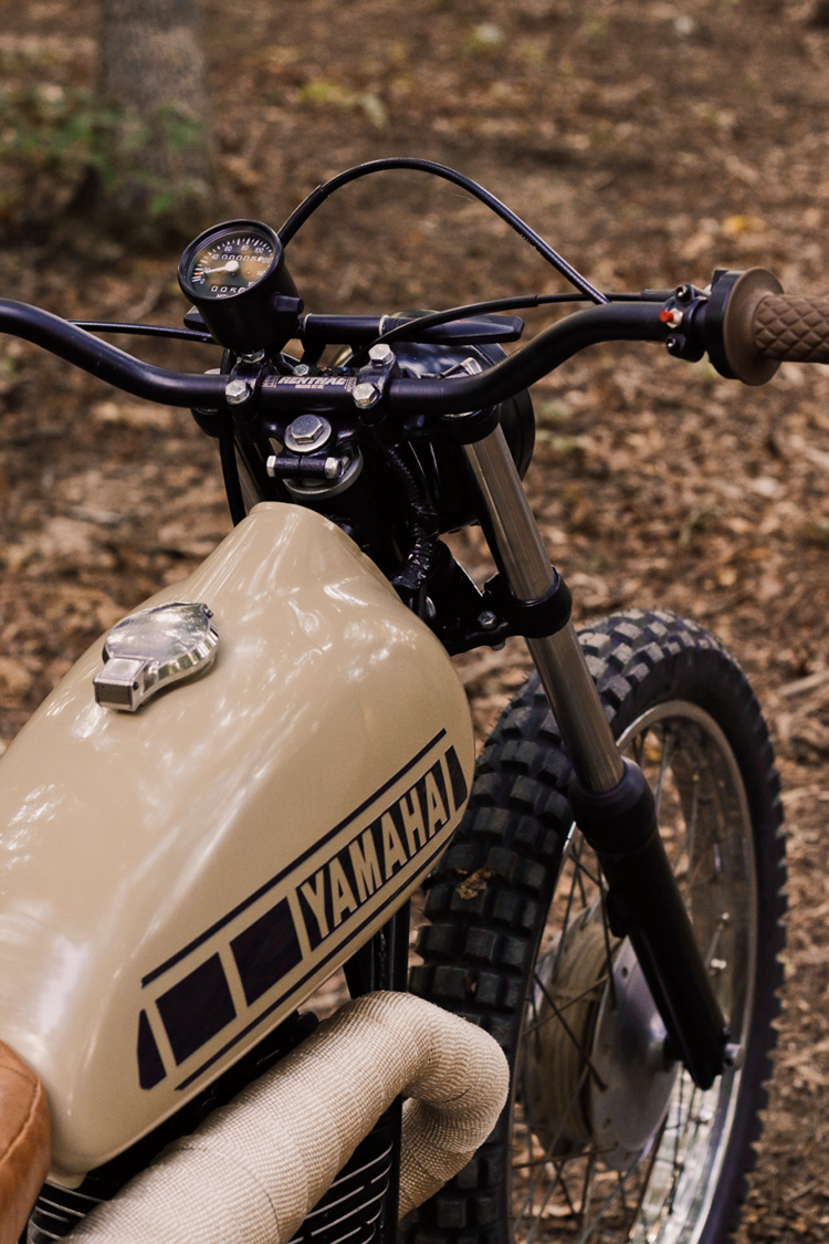 Yamaha Dt3 250 Scrambler By David King Bikebound