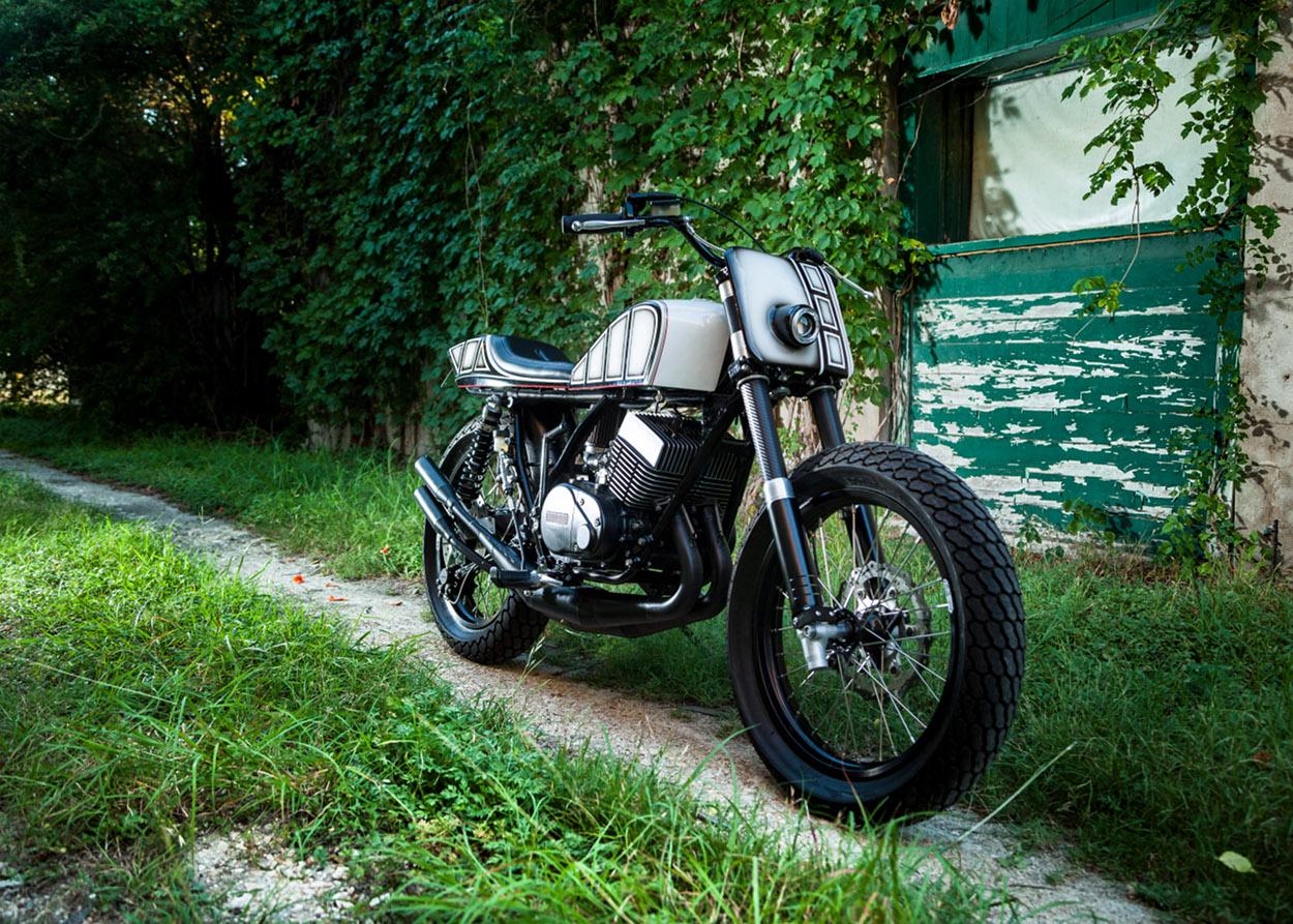 Yamaha RD400 Street Tracker by Mark Miller – BikeBound