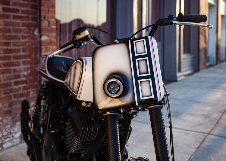 Yamaha RD400 Street Tracker
