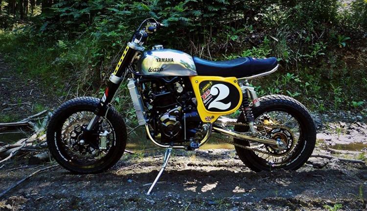 Yamaha XSR700 Tracker By John Hand Wasp Motorcycles BikeBound