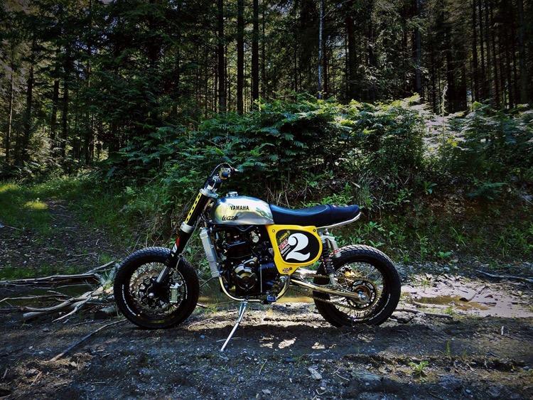 Yamaha YSR700 Tracker