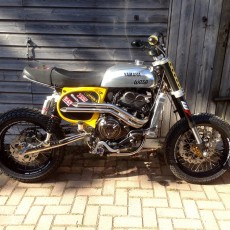 Yamaha XSR700 Tracker by John Hand / Wasp Motorcycles