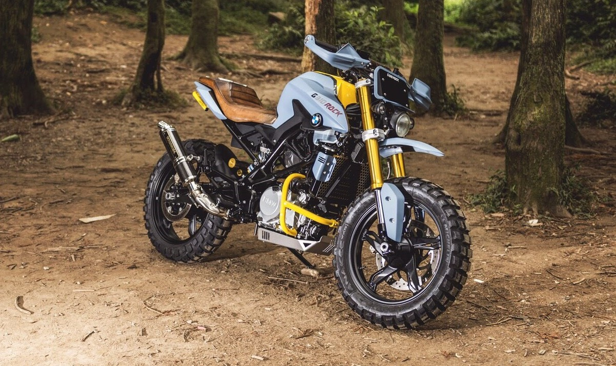 bmw g310r scrambler by dkdesign bikebound. Black Bedroom Furniture Sets. Home Design Ideas