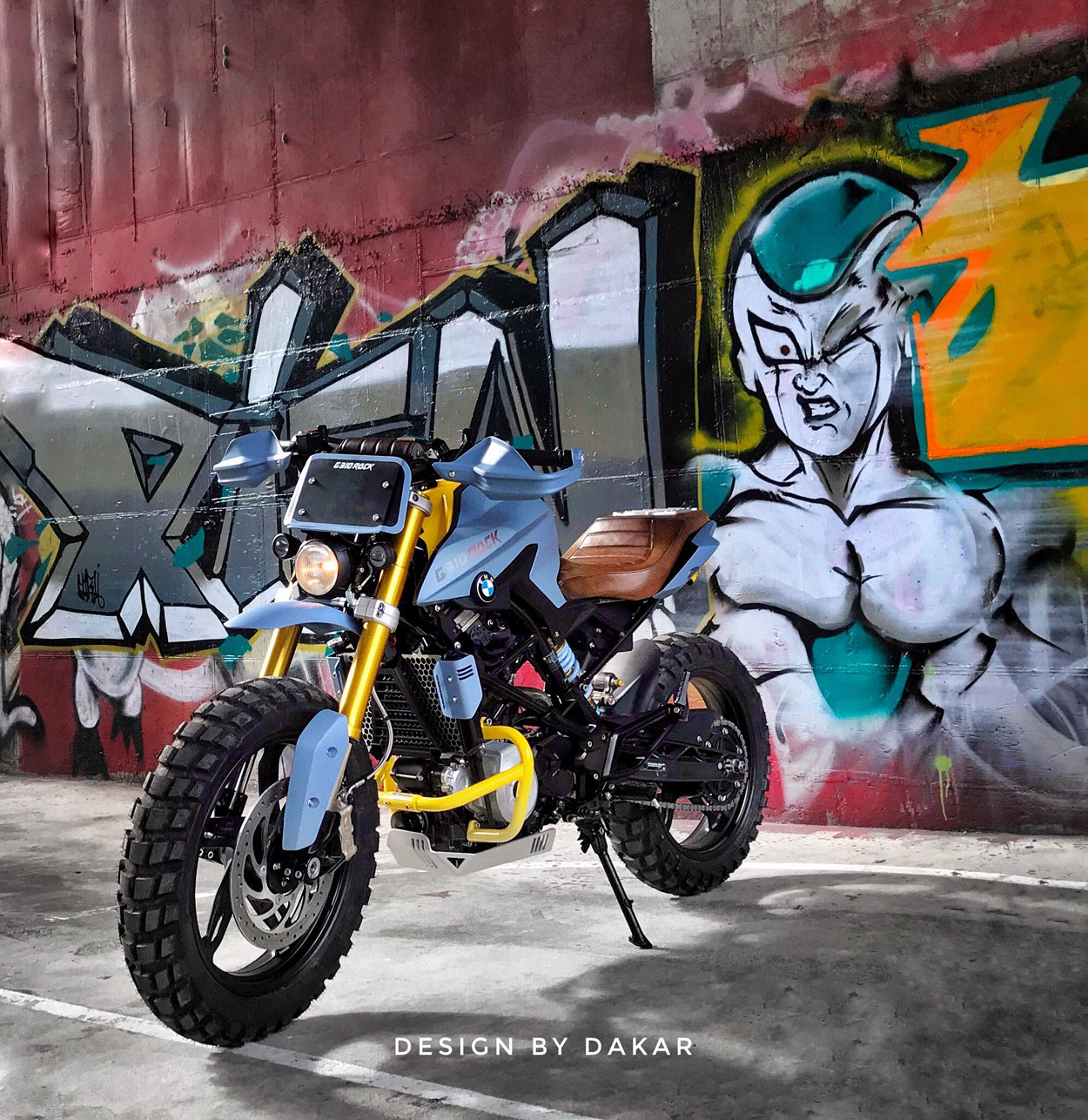 Bmw G310r Scrambler By Dkdesign Bikebound