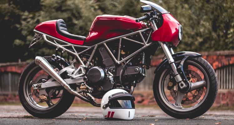 Ducati 750SS Cafe Racer by Kaspeed