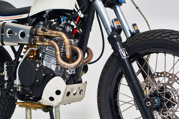 Honda XR600 Street Tracker