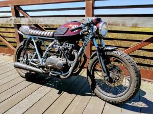 Kawasaki KZ400 Cafe Racer