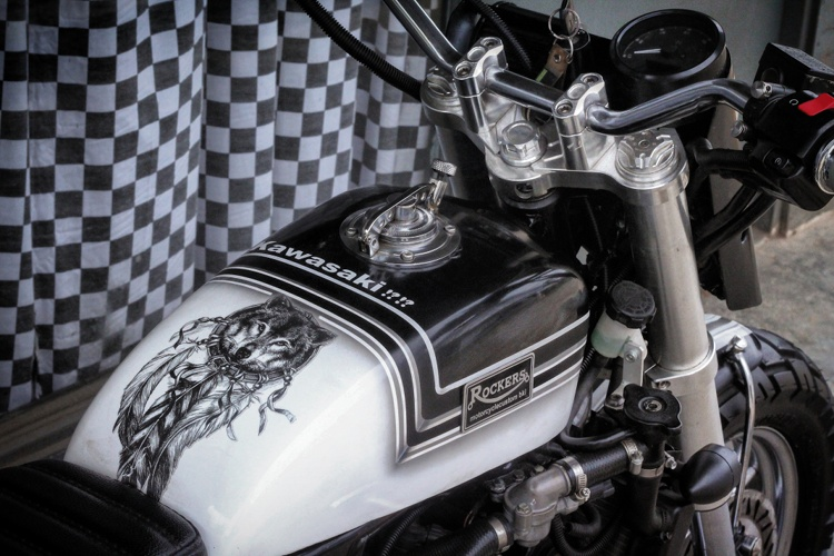 Kawasaki Ninja 250 Tracker