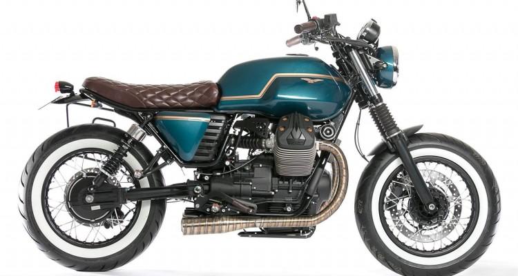 Custom Moto Guzzi V7 by Unik Edition