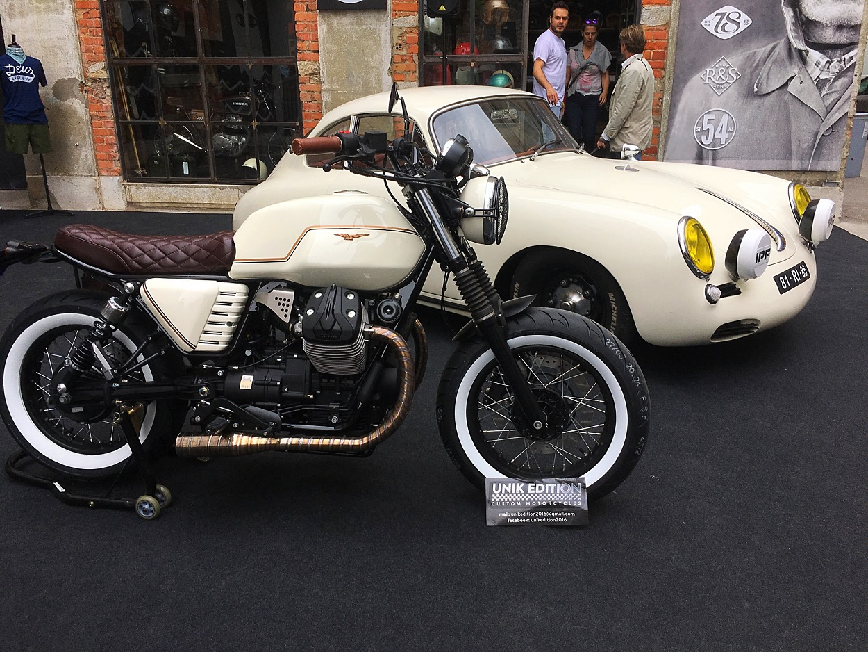 Custom Moto Guzzi V7 By Unik Edition Bikebound