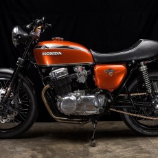 Honda CB750 Restomod by Hoy Vintage Cycles