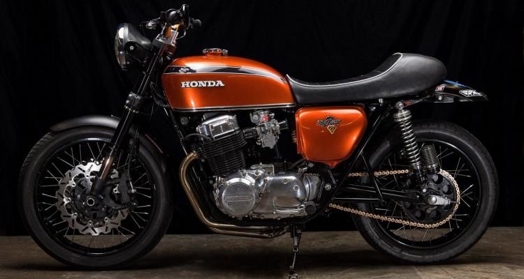 Honda CB750 Restomod by Hoy Vintage Cycles