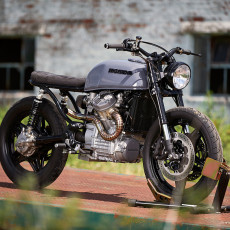Custom Honda CX500 by X-Axis