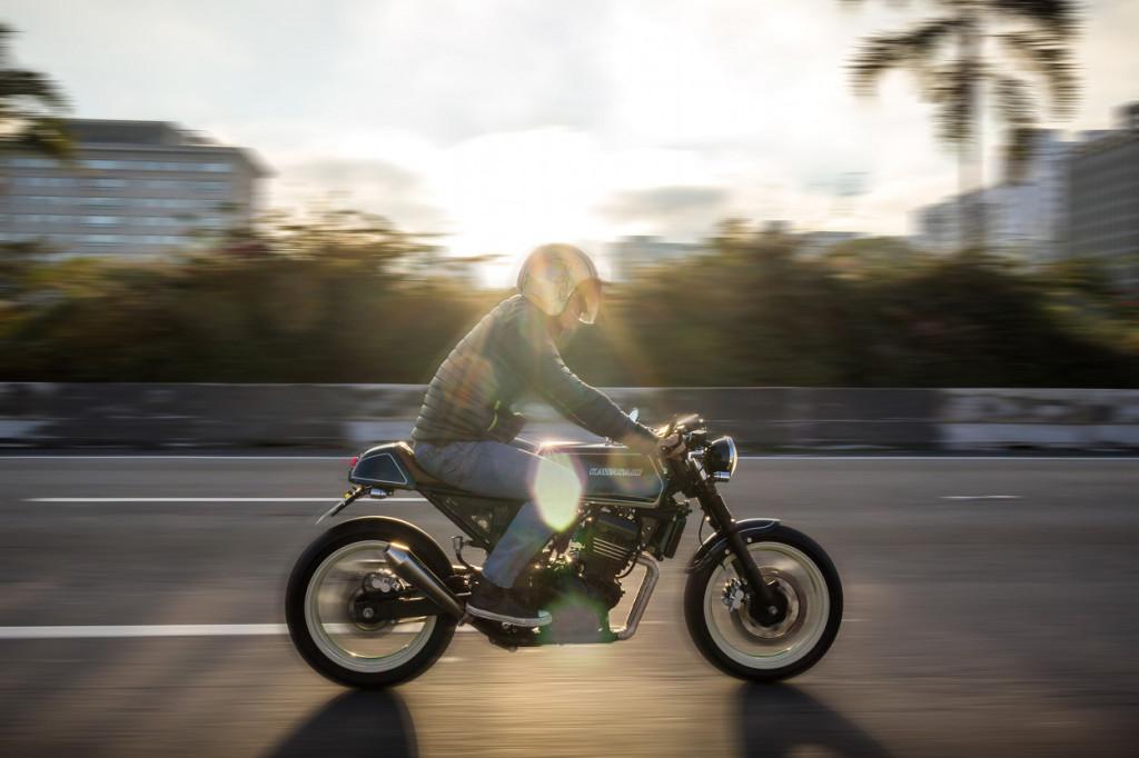 Kawasaki Ninja 250R Cafe Racer