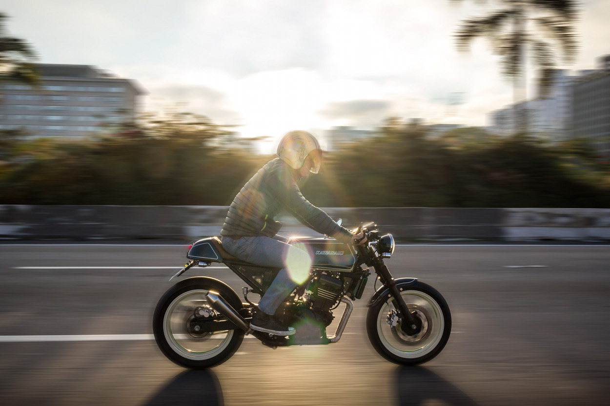 Kawasaki Ninja 250 Cafe Racer By Mr Ride Bikebound