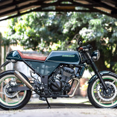 Kawasaki Ninja 250 Cafe Racer by Mr. Ride