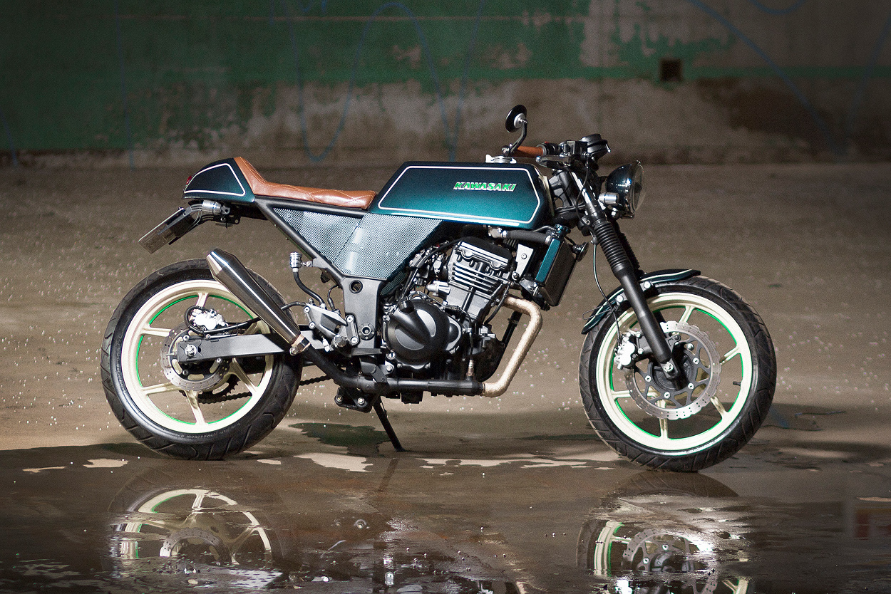 Kawasaki Ninja 250 Cafe Racer by Mr. Ride – BikeBound