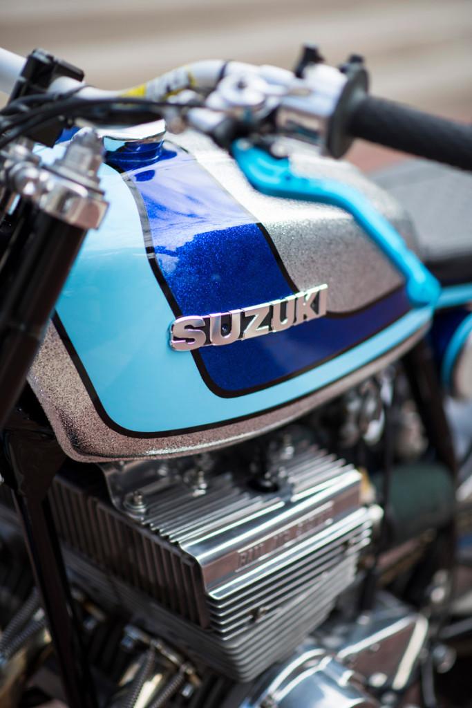 Suzuki GT380 Cafe Racer