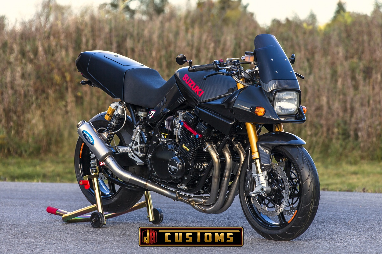 This Was A Bike I Always Wanted To Build And So Already Had Some Ideas In Mind For The Project Suzuki Katana Streetfighter Restomod