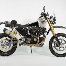 Sportster Adventure Bike:  Carducci Dual Sport SC3 Adventure