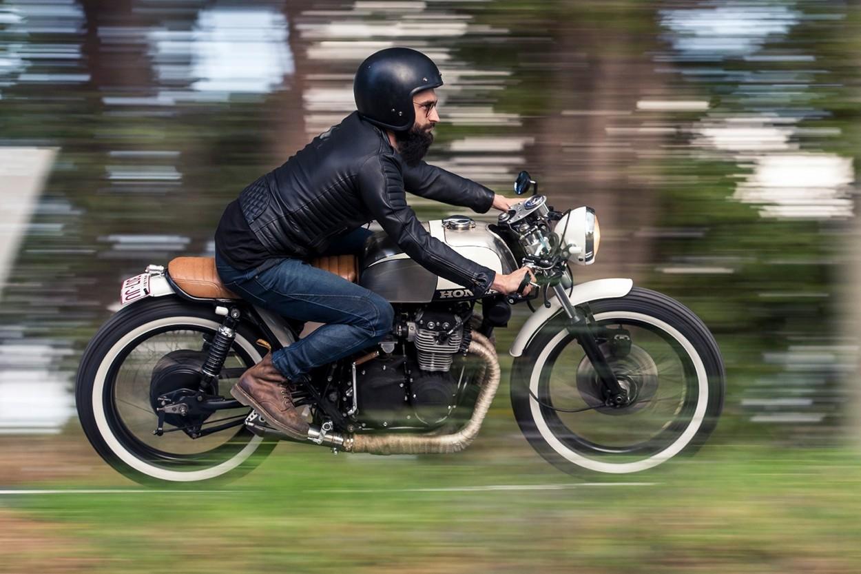 honda cb350 brat by purpose built moto bikebound. Black Bedroom Furniture Sets. Home Design Ideas