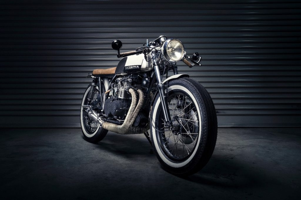 Honda CB350F Brat Cafe