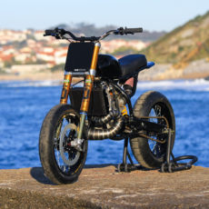 Honda CR500 Supermoto by Dab Design