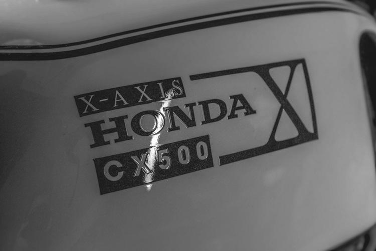 Honda CX500 Rose Edition