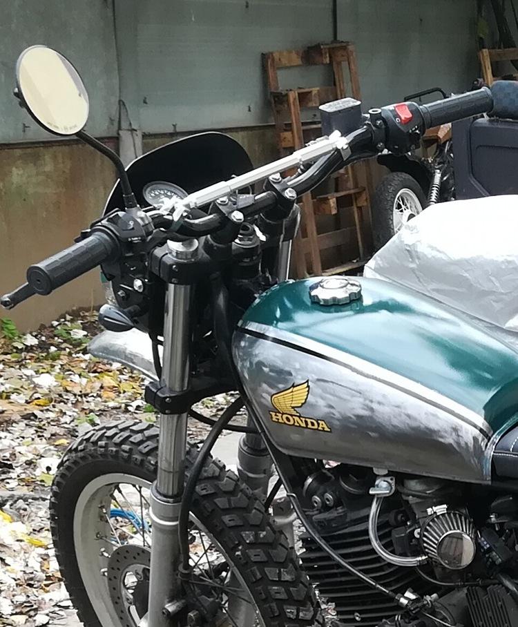 Honda FX650 Scrambler