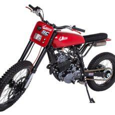 Honda NX350 Scrambler by Lucca Customs x Wolf Motorcycles