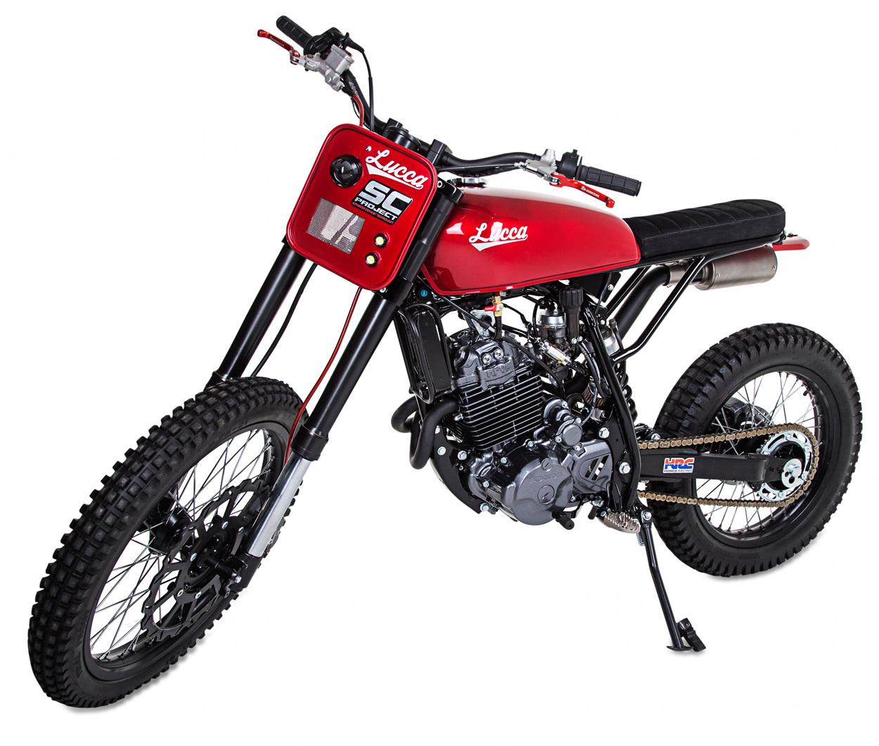 Honda Dual Sport Helmet >> Honda NX350 Scrambler by Lucca Customs x Wolf Motorcycles – BikeBound
